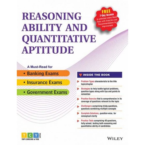 Reasoning Ability and Quantitative Aptitude by Wiley